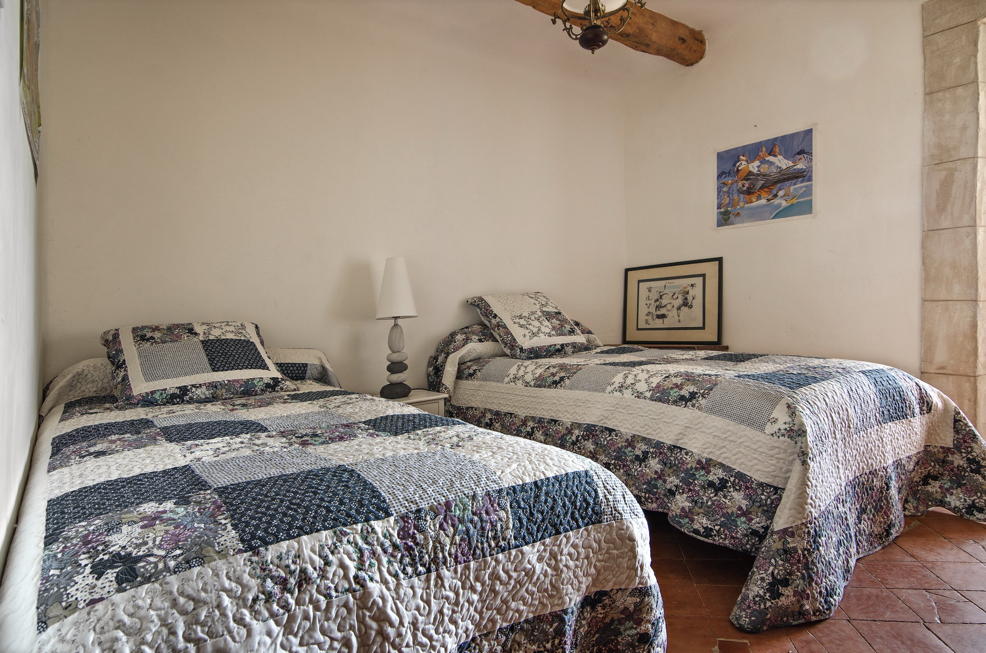 Nos chambres : côté provence   fontaine neuve