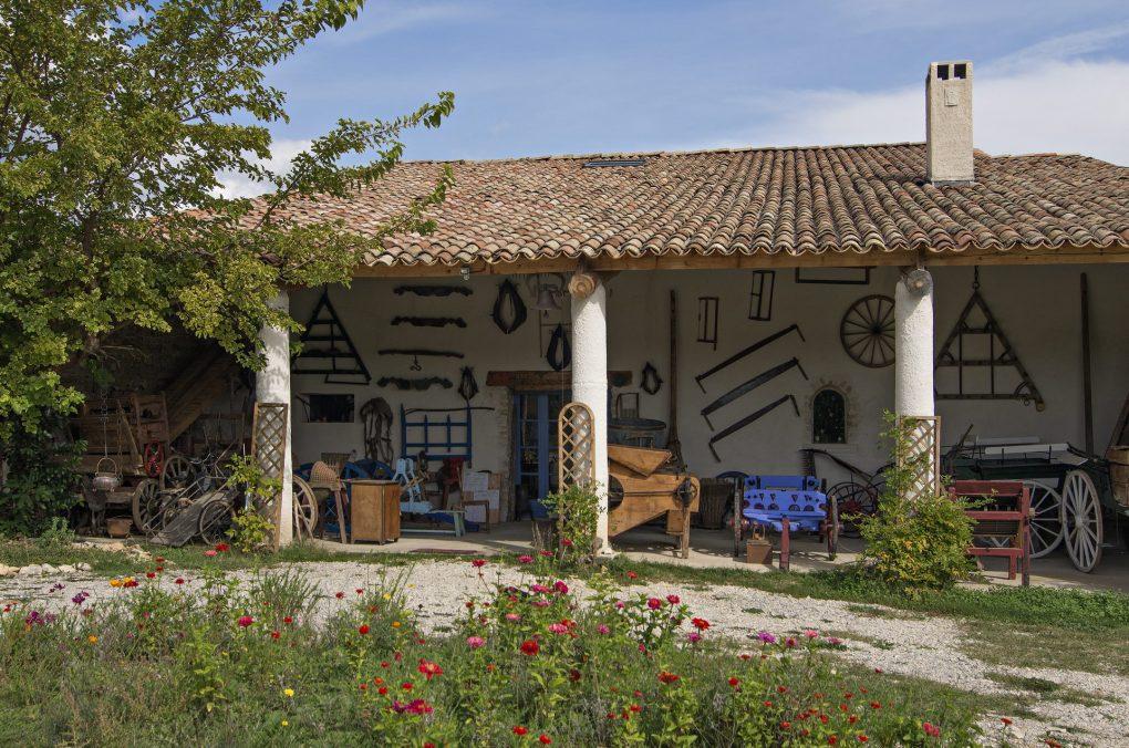 Fontaine Neuve gites et chambres d'hôtes à Lure : le musée des anciens, visite sur RDV