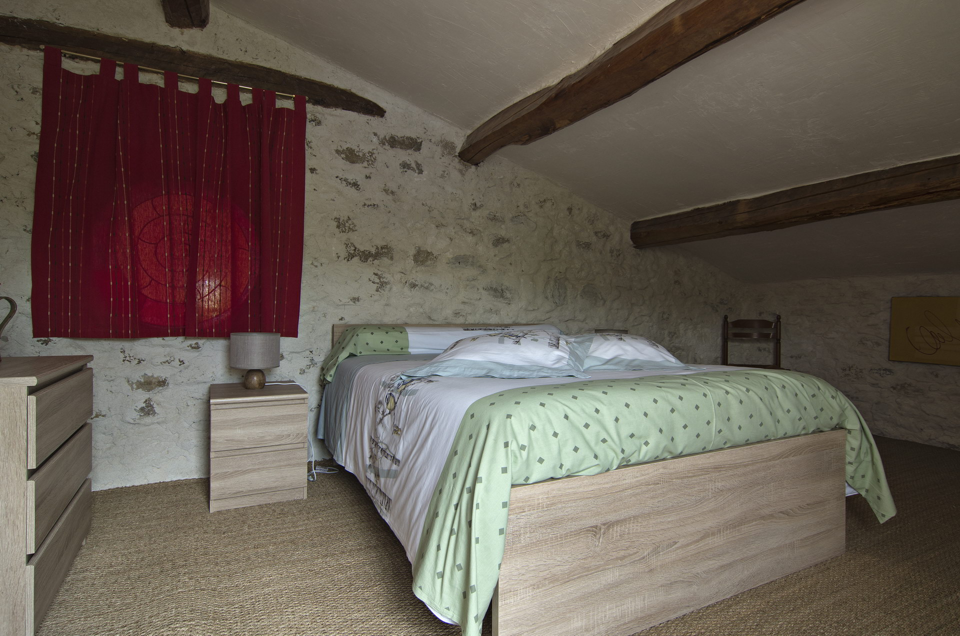 Fontaine Neuve gites et chambres d'hôtes à Lure : la chambre hirondelle pour 2 personnes