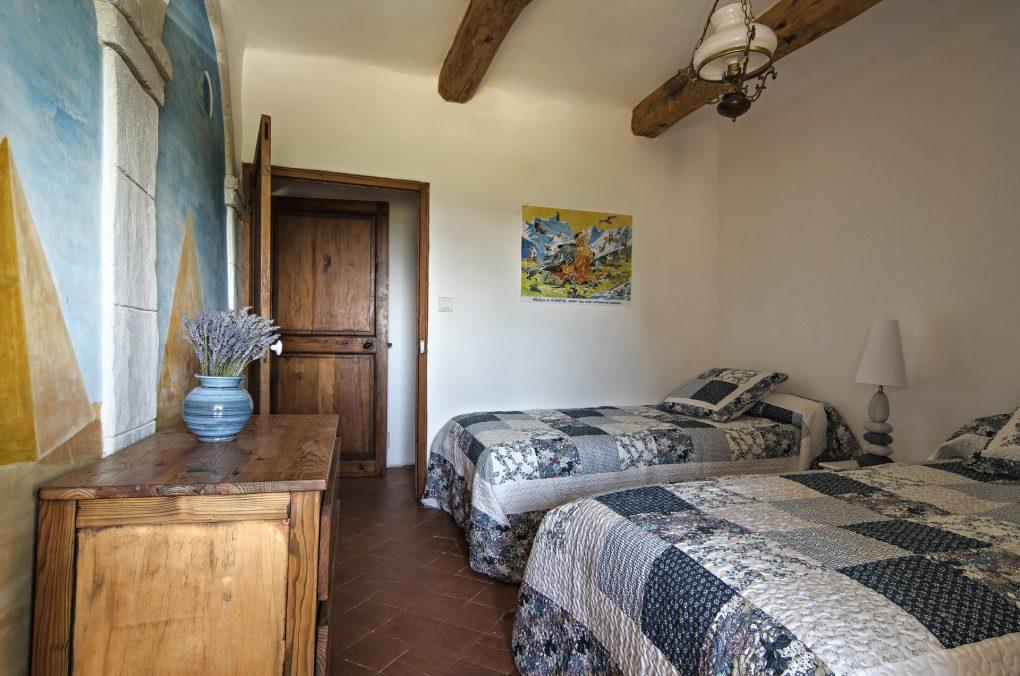 Fontaine Neuve gites et chambres d'hôtes à Lure : la chambre bleu pour 2 personnes